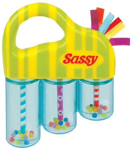 Juegos esJuguetes RelajanteAmazon Sonajero Sassy Y w0Omnvy8N