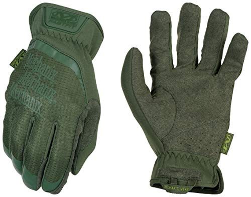 Mechanix Wear - FastFit OD Green Tactical Touch Screen Gloves (Large, Green)