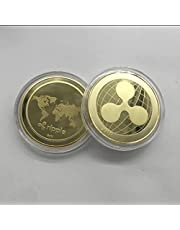 XRP ripple gold and silver plated commemorative coin