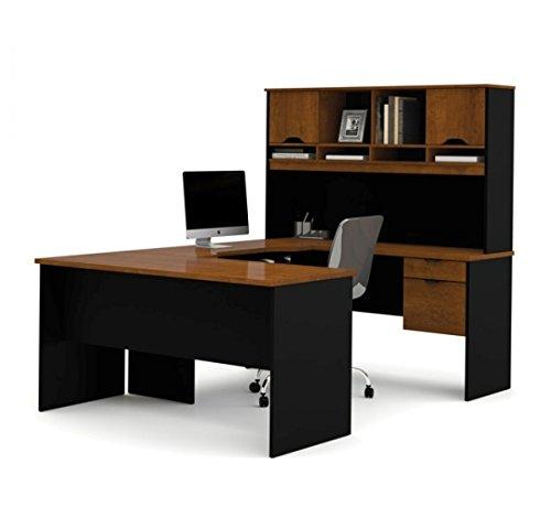 Bestar U Shaped Desk W/Hutch 84 7/8