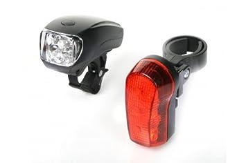 BIKE ORIGINAL - Kit de luces LED para bicicleta: Amazon.es: Deportes y aire libre