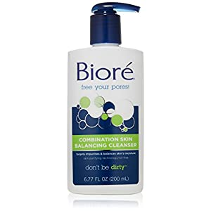 Biore Combination Skin Balancing Cleanser, 6.77 Ounce