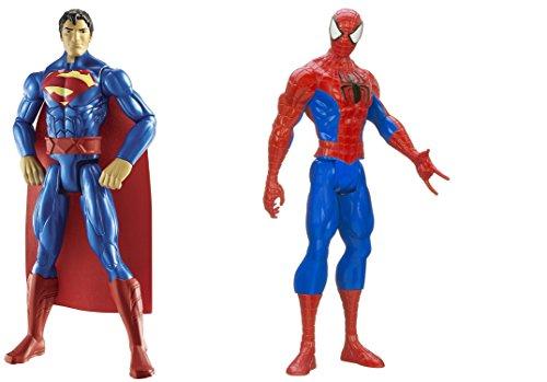 [Super Hero Superman vs Spider-Man Titan Hero Series 12