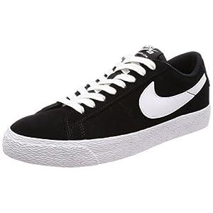 Nike SB Blazer Zoom Low Sneakers Black/White Gum Light Brown Mens 10.5
