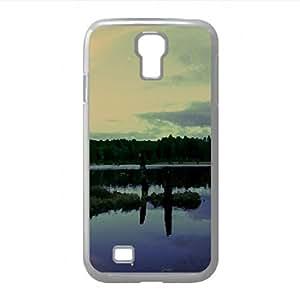 Hunneberg bird Sanctuary vargn sweden Watercolor style Cover Samsung Galaxy S4 I9500 Case (Landscape Watercolor style Cover Samsung Galaxy S4 I9500 Case)