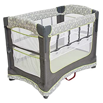 Image of Arm's Reach Concepts Ideal Ezee 3-in-1 Bedside Bassinet - Dandelion Baby