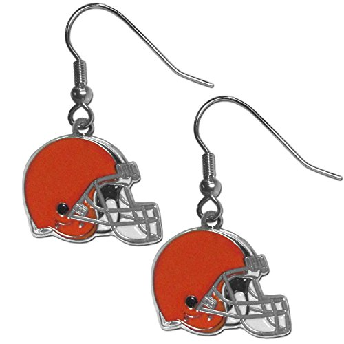 Siskiyou NFL Cleveland Browns Women's Chrome Dangle Earrings