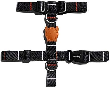 4 Sizes Dog H-Harnesses Soft Halter Harnesses ZEE.DOG
