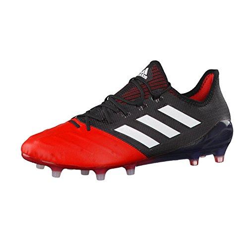 the best attitude 56091 da74a adidas Ace 17.1 Leather Fg, Botas de Fútbol para Hombre, Negro (Nero Negbas