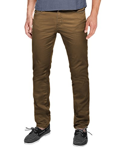 Match Men's Slim Fit Straight Leg Casual Pants(30, 8032 Camel) (Casual Pants For Men compare prices)