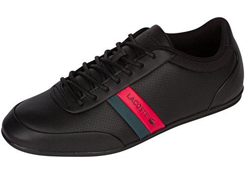 Lacoste Men's Storda 318 1 U Black/Red 8.5 M - Lacoste Sneakers Mens