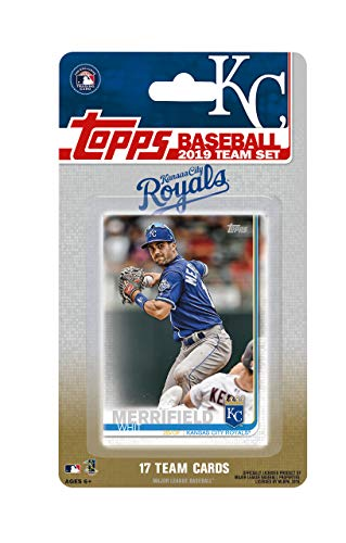 (Kansas City Royals 2019 Topps Factory Sealed Special Edition 17 Card Team Set with Salvador Perez and Alex Gordon Plus)