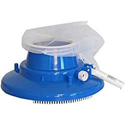 Swimming Pool Leaf Gulper Leaf Eater Vacuum Cleaner w/ wheels and brushes