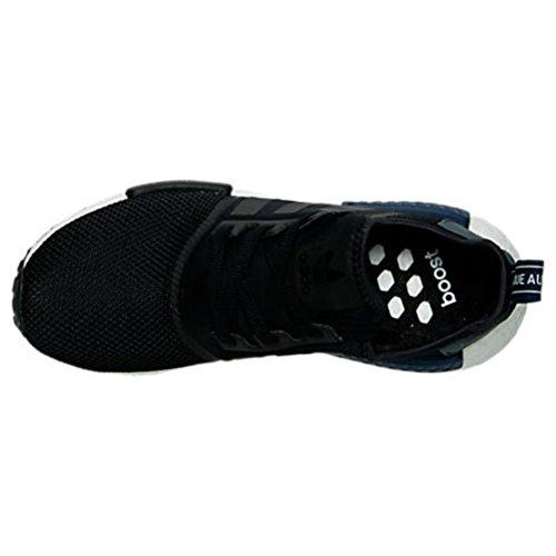 Adidas Originals Para Hombre Nmd_r1 Runner Core Negro / Onix / Azul Oscuro