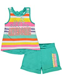 "Real Love Baby Girls' ""100% Awesome"" 2-Piece Outfit"