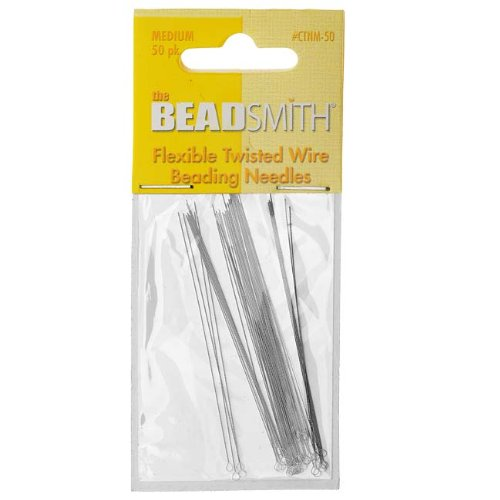 um Flexible Twisted (50) (Twisted Wire Beading Needles)