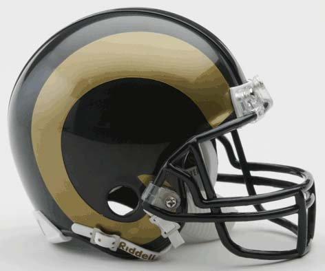 NFL St. Louis Rams Replica Mini Football Helmet