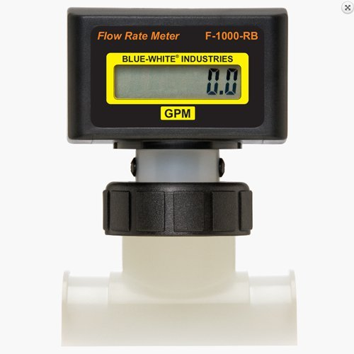 (Blue White Industries Electronic Digital Flow Meter 6 inch / 250-2500 gpm)