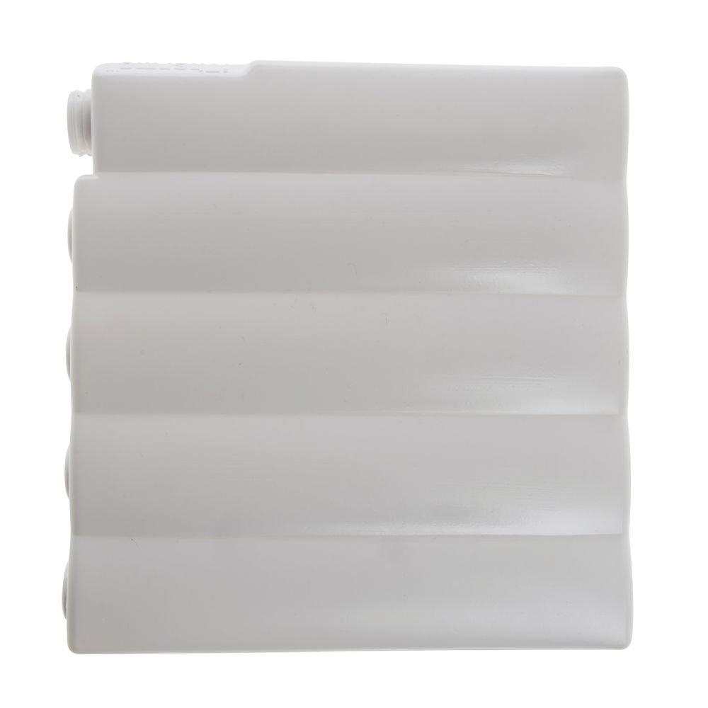 American Metalcraft Vidacasa Cold Cell Plastic 7L x 8W x 1H (2 Cells) - HUB-17907 by Miller Supply Inc