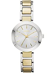 DKNY Womens STANHOPE Quartz Stainless Steel Casual Watch (Model: NY2401)