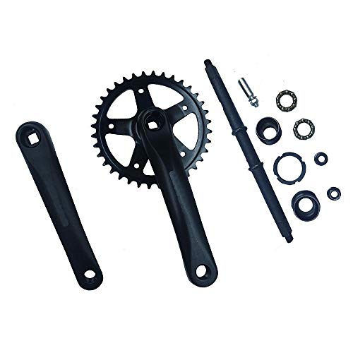 Kinbelle Wide Pedal Crank Assembly kit Fit For 66cc/80cc 32T For Gas Motorized Bike