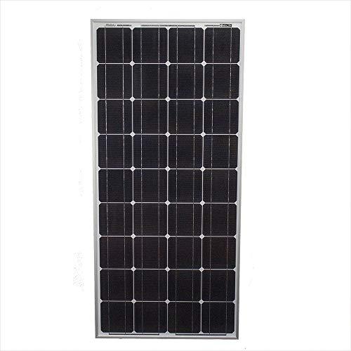 Mighty Max Battery 100 Watt Monocrystalline Solar Panel (Panel Solar Mono)