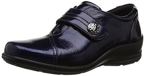 Copricapo Da Donna Simone Slip On Bar Shoe Navy / Teal