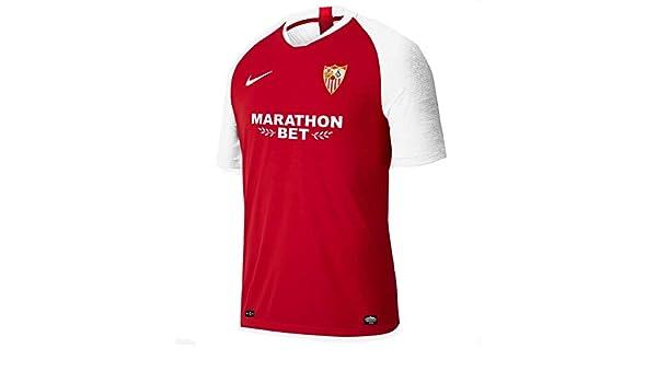 Nike Dry Strke JSY SS Camiseta, Hombre, University Red/White/White ...