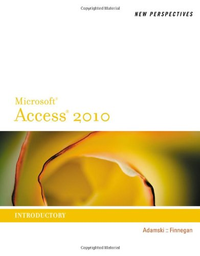 [PDF] New Perspectives on Microsoft Access 2010, Introductory Free Download | Publisher : Course Technology | Category : Computers & Internet | ISBN 10 : 0538798483 | ISBN 13 : 9780538798488