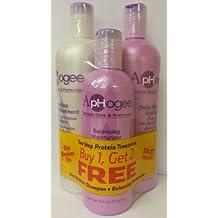 Aphogee Trio Two-step Protein Treatment 16oz + Balancing Moisturizer 8oz + Deep Moisture Shampoo 16oz by Aphogee