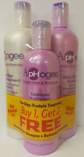 Aphogee Trio Two-step Protein Treatment 16oz + Balancing Moi