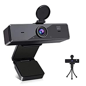 AFXMATE Webcam with Microphone...