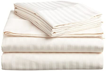 Deep Pocket Up to 16 -King Purple Coziest Stripe Sheets Ever Softest 1500 Thread Count Egyptian Quality Luxury Silky-Soft Wrinkle /& Fade Resistant 4-Piece Bed Sheet Set Elegant Comfort Best