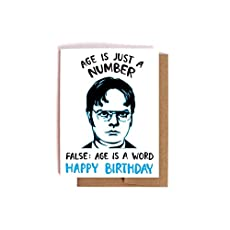 Dwight Schrute Birthday Card The Office Bday