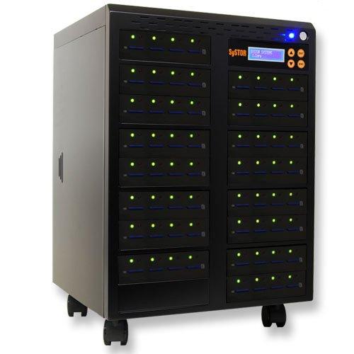 Produplicator SDD-63 1-63 SD Duplicator multi disc tower system duplicating burner flash standalone by Produplicator