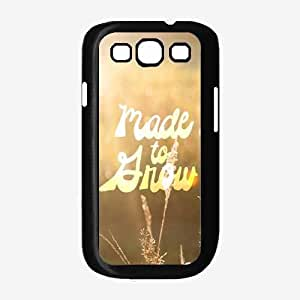 Made to Grow TPU RUBBER SILICONE Phone Case Back Cover Samsung Galaxy S3 I9300