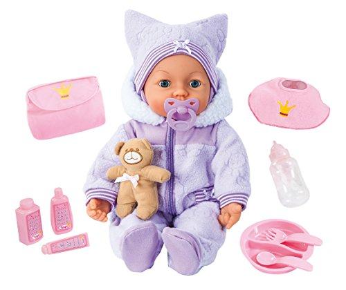 Bayer Design 9469400 - Piccolina Magic Eyes Puppe, 46 cm