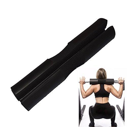 E2shop Smart Barbell Bar Neck Shoulder Squat Bar Pad Hip ...