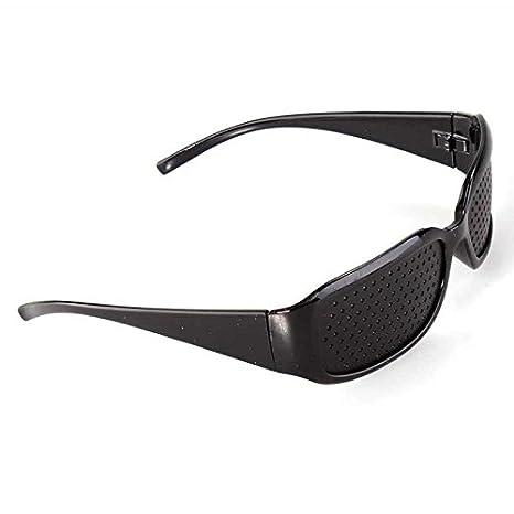 367ad8a1d8 Gafas negras Reticulares con Agujeros: Amazon.es: Electrónica