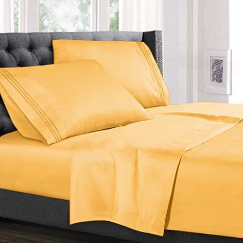 Hearth & Harbor 4 Piece Bed Sheet Set
