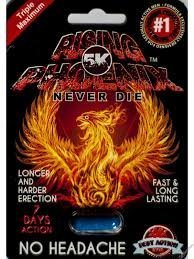 RISING PHOENIX 5K NEVER DIE Male Sexual Performance Enhancement Pill 12 PK by Redlips