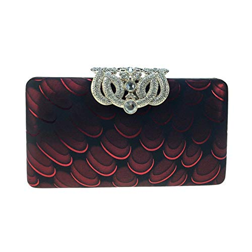 color Sky De 6 10cm Winered Embragues Moda Para Tamaño Fiesta Winered grow 18 Bolso Noche Suave Mujer vvwBqp1S