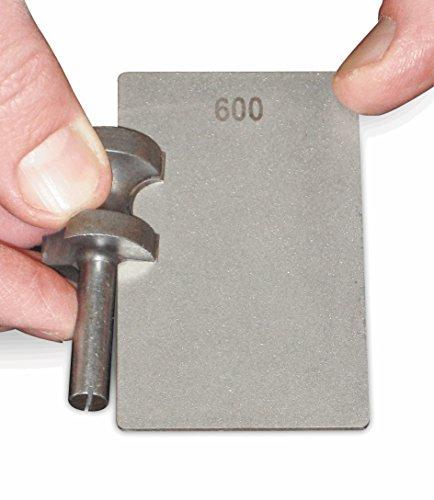 Trend DWS/CC/FC Fine/Coarse 3-Inch Double-sided Diamond Credit Card Stone