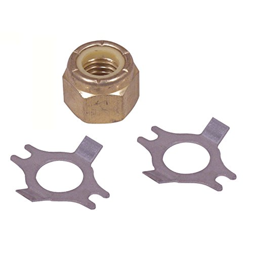 Handi Locknut Man (Handi Man Marine B182A Lock Nut - 10-32, 100 Count)