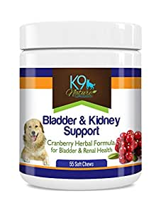 Amazon.com : K9 Bladder Support for Dogs - Cranberry