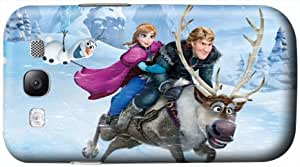 Popular Cartoon Film Frozen Anti-Proof Galaxy S3 Plastic Hard Shell Case Cover