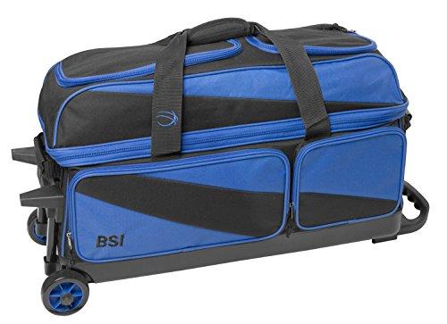 BSI 4301 Triple Roller Bag, Blue/Black by BSI (Image #2)