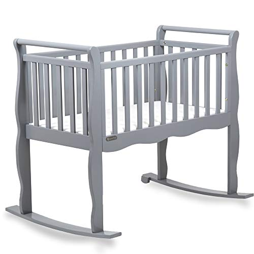 Now and Forever Baby Cradle Grey