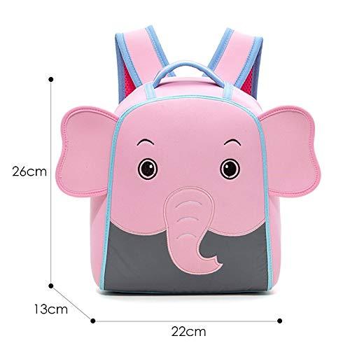 HPADR KinderrucksackCartoon Rucksäcke Für Mädchen Kinder Mode Niedlich Schultasche Kindergarten Kinder Schultaschen R Dinosaurier Elephant