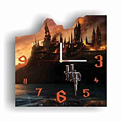 Original Handmade Wall Clock Harry Potter 11.8 Get Unique décor for Home or Office – Best Gift Ideas for Kids, Friends, Parents and Your Soul Mates